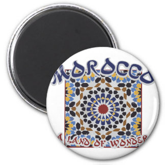 Morocco Land Of Wonder Magnet