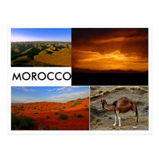 Morocco Landscape Postcard