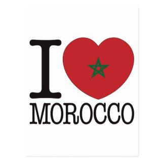 Morocco Love v2 Post Cards