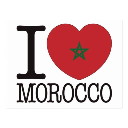 Morocco Love v2 Post Card