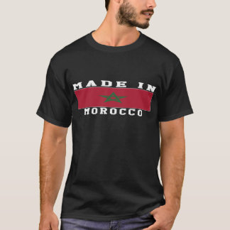 Morocco Made In Designs T-Shirt