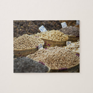 Morocco,Marrakesh,The Medina,Local produce on a Jigsaw Puzzle