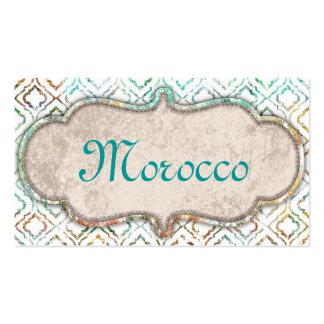Morocco Medium Pack Of Standard Business Cards