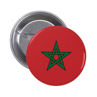 Morocco – Moroccan Flag 6 Cm Round Badge