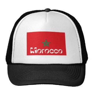 Morocco moroccan flag souvenir hat
