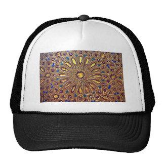 morocco mosaic islam decoration geometry arab cap