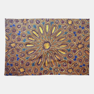 morocco mosaic islam decoration geometry arab kitchen towels