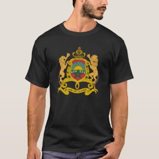 Morocco Official Coat Of Arms Heraldry Symbol T-Shirt
