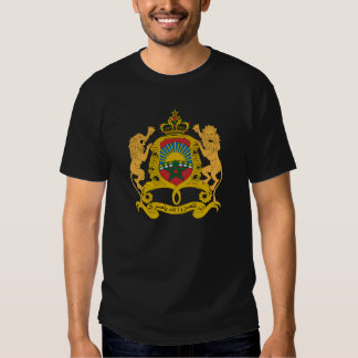 Morocco Official Coat Of Arms Heraldry Symbol Tshirts