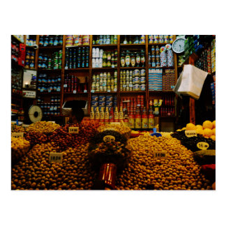 Morocco: Olive lovers Postcard