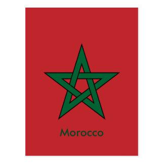 morocco post card