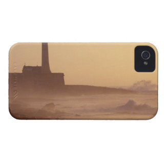 Morocco, Rabat, Lighthouse at sunset with iPhone 4 Case