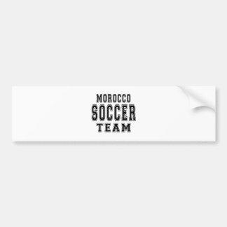 Morocco Soccer Team Bumper Stickers