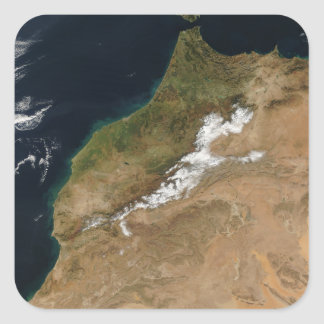 Morocco Square Sticker