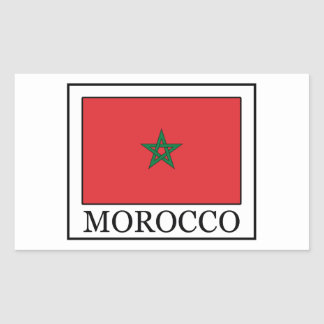 Morocco sticker