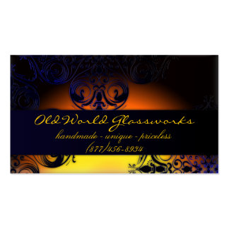 Morocco Sunset Business Card