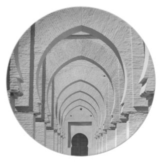 MOROCCO, Tizi, N, Test Pass Road, TIN MAL: Party Plate
