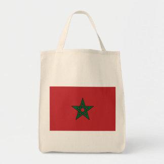 morocco grocery tote bag