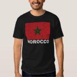 Morocco Vintage Flag T-shirts