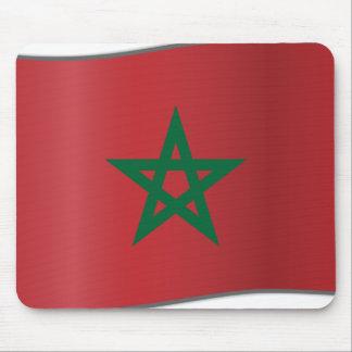 Morocco waving, Morocco Mouse Pad