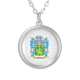 Moron Coat of Arms - Family Crest Necklaces