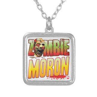 Moron Zombie Head Pendant