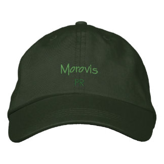 Morovis, Puerto Rico Embroidered Hat