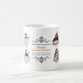 Morph Snowman Variations Coffee Mugs