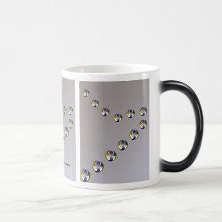 Morphing escalation mug
