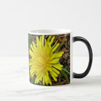 Morphing Mug of Dandelions