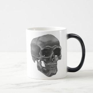 Morphing Skull Mug