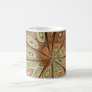 Morphing surprise abstract flower Mug