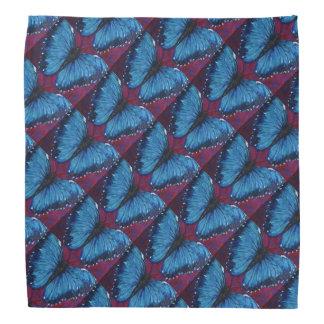 Morpho Butterfly Pattern Bandana