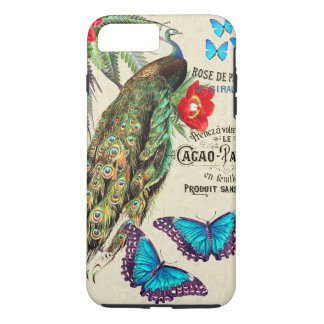 Morpho Butterfly Peacock Flowers Cacao Device Case