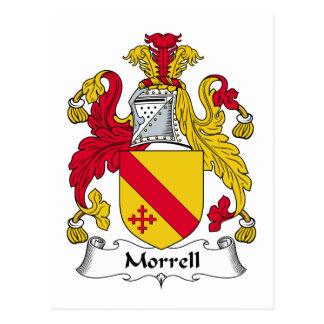 Morrell Family Crest Postcard