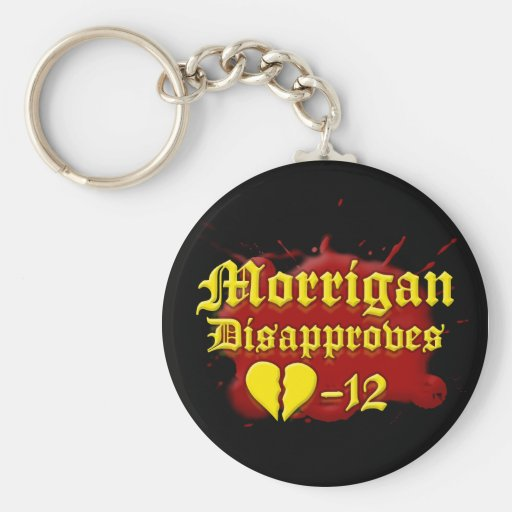 Morrigan Disapproves Key Chains