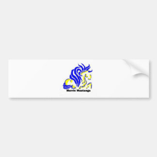 morrin mustang Gifts Bumper Sticker