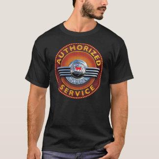 morris cars vintage service sign T-Shirt