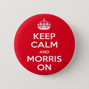 Personalised Male Born To Morris Dance Coaster Gift Boys Morris Dancer Present