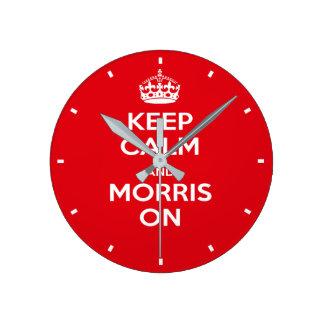 Morris Dancing Wall Clock