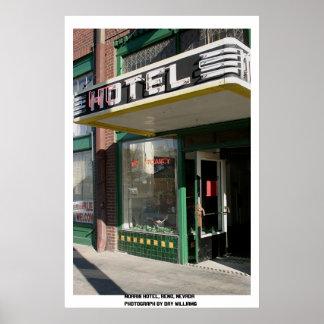 Morris Hotel, Reno, Nevada Poster