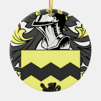 Morris (Irish) Coat of Arms Christmas Tree Ornament