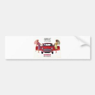 Morris Mini Minor 1963 Bumper Sticker