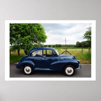 Morris Minor 1000 Posters
