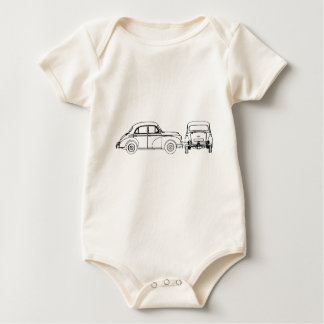 Morris Minor Baby Bodysuit