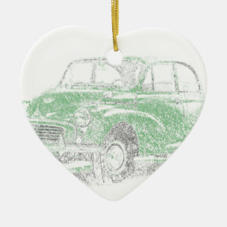 Morris Minor (Biro) Christmas Ornament