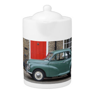 Morris Minor Classic Car Teapot