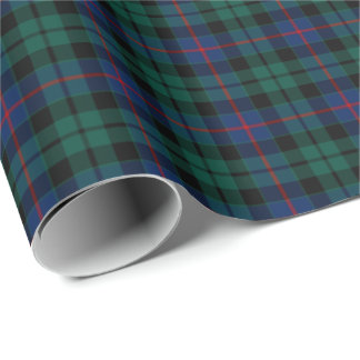 Morrison Clan Tartan Wrapping Paper