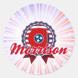 Morrison, TN Round Sticker