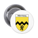 Morrissey Coat of Arms/Family Crest Pinback Button